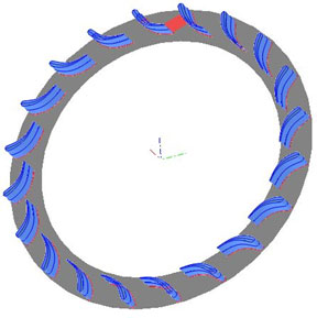 radial-blade-Restagger-angle