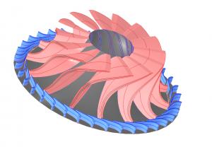 ORC_Radial Turbine
