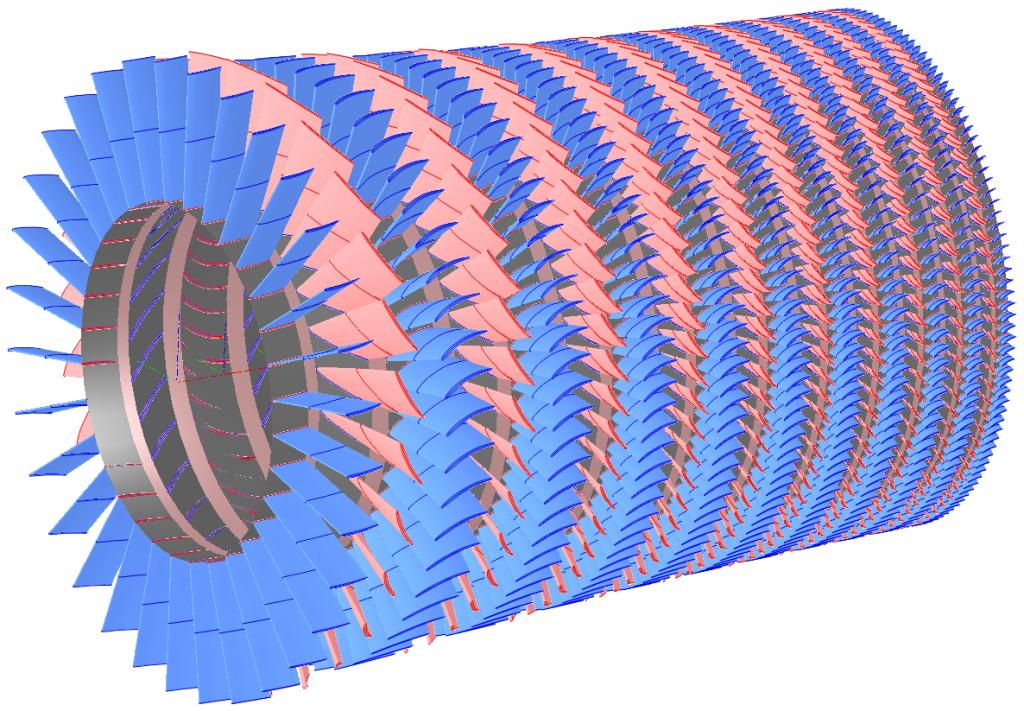 Multistage Axial Compressor